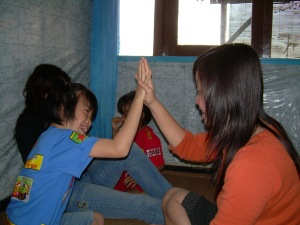 Hi Five with me!