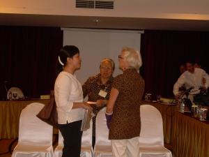With Linda and Bu Mimi