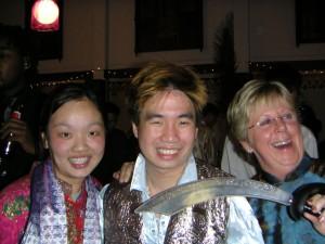 Me, Michael Ong & Pauline Ibbs