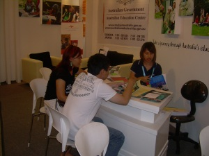 During counseling session
