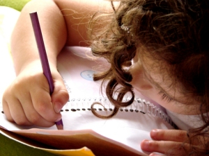 Writing a letter to God