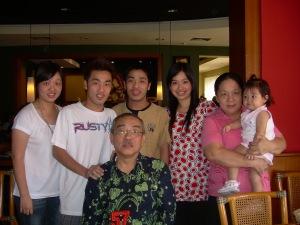 On his birthday July 2008
