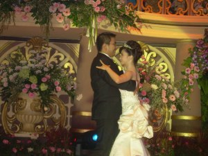 The wedding dance