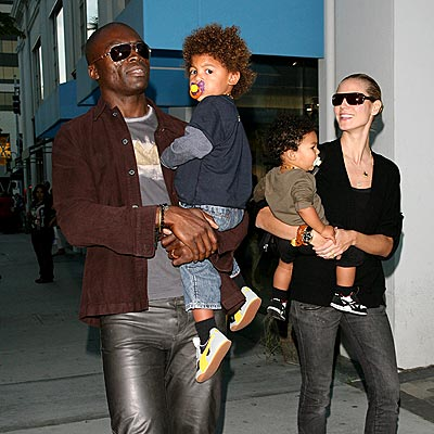 Seal heidi klum and kids