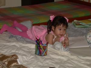 My pinky niece